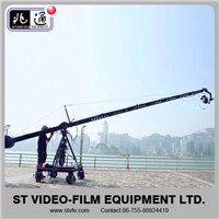 camera crane triangle with tripod dolly for video making