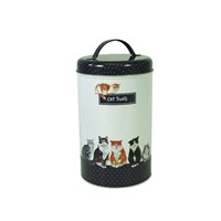 cat  dog pet food & treats tin box