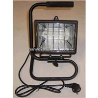 energy saving lamp halogen lamp fitting outdoor lighting floodlight work light