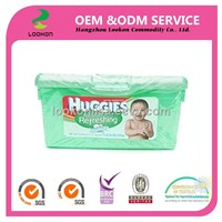 extra soft box biodegradable bamboo wipes baby organic Johonson baby wipes