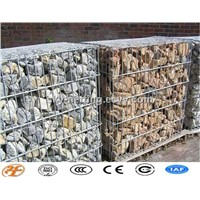 Galfan/Galvanized Welded Stone Cage Factory