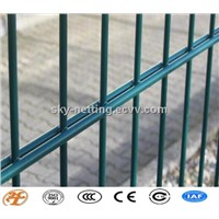 galvanized/powder coated double wire grating