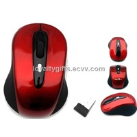 hot sell  2.4g usb 3d optical wireless mouse