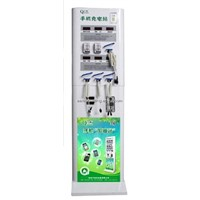 Mobile Phone Charging Station Touch Screen Charger Kiosk CE UL Approval