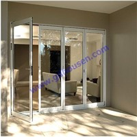 not thermal breaking series aluminium folding door