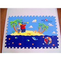 Cartoon Coating EVA Joint Puzzle Mat