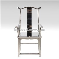 outdoor stainless steel chair