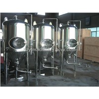 Polished and Bright Beer Fermenting Tank