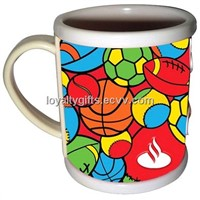 promotional products of drink mug eco-friendly soft pvc mug
