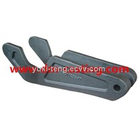 railway parts investment casting