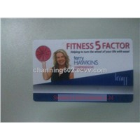 reprint plastic business card