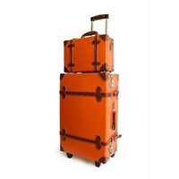 retro luggage, trolley case, beauty case, eather luggage, ABS luggage