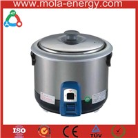 rice cooker with biogas digester