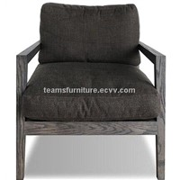 solid wood leisure chair lazy chair sofa chair solid wood furniture