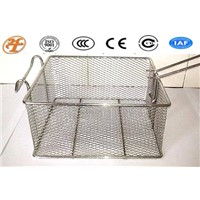 stainless steel 304 mini square mesh basket
