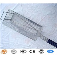 stainless steel chicken fry mesh basket