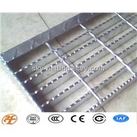 stainless steel/galvanized steel serrated grating factory