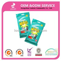 top quality general purpose household cleansing wet wipes