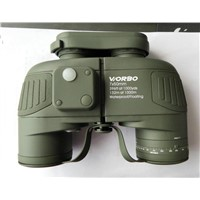 with Illuminated Compass Military Binoculars 7X50
