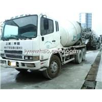 used Mitsubishi 12CBM concrete mixer truck