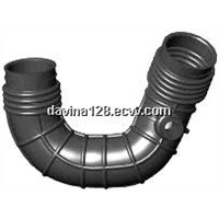 Auto molded rubber air hose