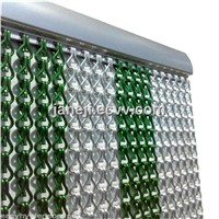 Elegant Aluminum Chain Fly Screen/double jack chain