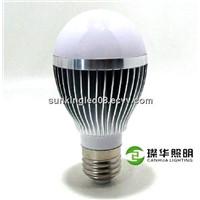 Energy-saving PC 3W/5W7W/9W led bulb lamp, 5000k bulb led e27 lamp