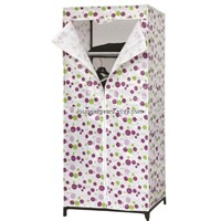 Fabric Wardrobe Canvas Wardrobe Portable Wardrobe Closet Tube