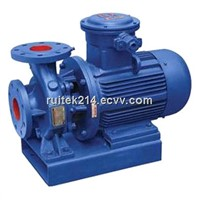 ISWH single-stage horizontal chemical pump