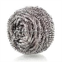 Kitchen Cleaning Stainless Steel Scrubber - Steel Scourer -Sponge Scourer- Cleaning Sponge Ball