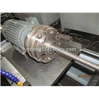 Stainless steel corrugated pipe making machine
