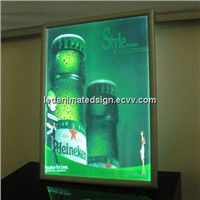 Super Slim Snap Advertising LED Light Box