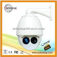 1080P IP synchronized zoom IR high speed dome camera