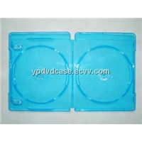 11MM DOUBLE BLUE DVD Case dvd box dvd cover