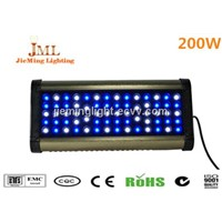 200W LED aquarium light 150W, blue and white remote controller dimming hydroponics led light