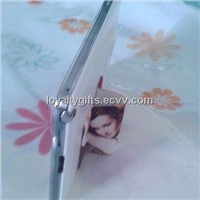 2014 New mobile promotion gifts  self-adhesive microfiber mobile screen cleaner and mobile stand