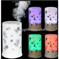 4 LED Colors & 4 Timing Modes Ultrasonic Aroma Vibration Diffuser & Air Humidifier