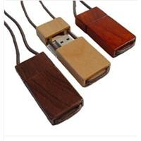 Bamboo Wooden Lanyard USB Stick