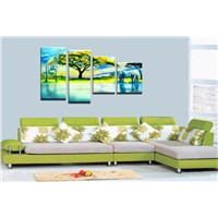 Cheap canvas art painting Australia wholesale promotional price  personalized canvas art paintings