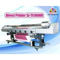 Direct textile printer for fabric and transfer paper with Epson DX5/dx7 head