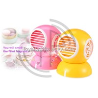 Fashion small MINI USB fan perfume of air conditioner handheld Turbine no leaf fan 360 degrees
