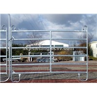Germany style oval pipe Galvanized horse fence