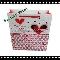 Heart Shape Factory Supplier Custom Paper Bag