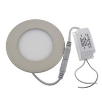 Hottest Sale Led Panel Light Round 3/4/6/9/12/15/18/24W Ultra Thin