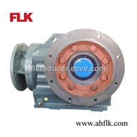KAF series B5 flange mounted hollow output shaft gearbox