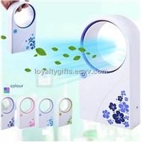 MINI PORTABLE HANDHELD AIR CON AIR CONDITIONER DESKTOP FAN COOLER USB / BATTERY