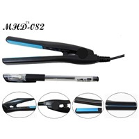 Mini ceramic hair straightener negative ions flat iron (MHD-082)