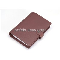 New design promotional PU notebook