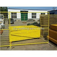 PVC Coated Canada Standard Temporary Fencing Panel