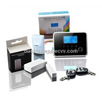 Potable intruder GSM alarm temperature/APP control, SMS/GSM/PSTN/contact ID 433/868MHzNew